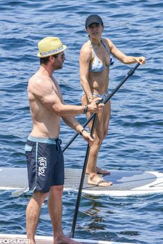 Chris Hemsworth and Elsa Pataky showed off their toned bodies while relaxing in the ocean in Corsica, France, on July 3. Keep reading to see more of their steamy snaps!
