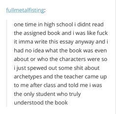 tumblr text post - this will never happen <<< yeah, so if I could be this person, that'd be great
