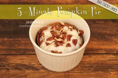 21 Day Fix Pumpkin Pie
