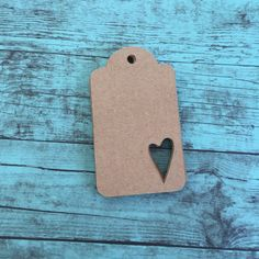 Pack of 25 blank Kraft paper gift tag. Each tag has a heart cute add for some extra fun and style. These tags are great for weddings, bridal