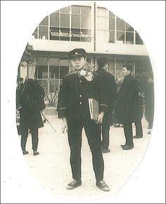 문재인 대선 후보의 중학교 졸업 사진