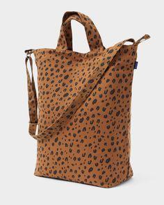 Duck Bag with Laptop Pocket - Leopard