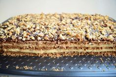 : Romanian Desserts, Romanian Food, Cake & Co, Cake Shop, Sweets Recipes, Cookie Recipes, Sweet Cooking, Good Food, Yummy Food