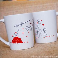 Boyfriend Christmas Gift Husband His And Hers Mugs Anniversary Gifts For Coffee S Set Boldloft