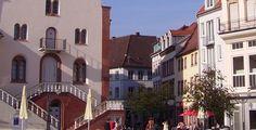 Landau (Rheinland-Pfalz): Landau in der Pfalz ist eine kreisfreie Stadt sowie Verwaltungssitz des Landkreises Südliche Weinstraße im Land Rheinland-Pfalz in Deutschland. Flächenmäßig ist Landau mit 82,94 km² die drittgrößte Stadt der Pfalz nach Kaiserslautern und Neustadt an der Weinstraße, welche zusätzlich bevölkerungsreicher sind. Berücksichtigt man nur die Einwohnerzahl, stehen die beiden vorderpfälzischen Städte Speyer und Ludwigshafen am Rhein ebenfalls vor Landau. Die Stadt ist ein…