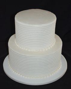 Combed Buttercream Wedding