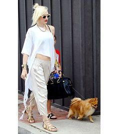 Gwen's style is everything - this takes me back to new wave in the 80s in SoCal. Fun!