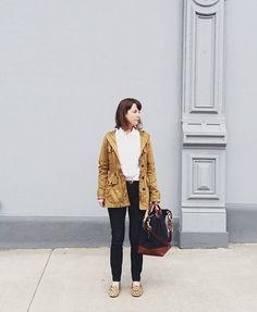 I like the jacket and the bag