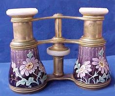 antique opera glasses -- those were supposed to be passed down to me