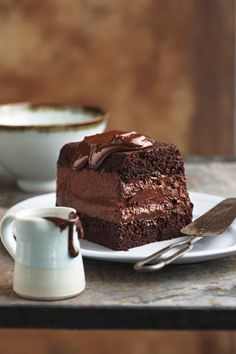 Sjokolade-mousse-terrien