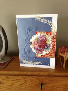 Another card made this morning.