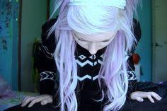 still wanting lilac hair Lilac Hair, Alternative Hair, Scene Hair, We Heart It, Hair Makeup, Lavender, Hair Beauty, Dreadlocks, Hair Coloring