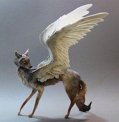 Designcloud - Handmade Fantasy Creatures Sculpted by Ellen Jewett