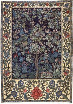 William Morris. http://floresypalabras.blogspot.com.es/2012/11/william-morris-el-arbol-de-la-vida.html