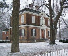mansions in fairmount park philadelphia pa   Woodford Mansion, Fairmount Park, Philadelphia, Pennsylvania, 1756 ...