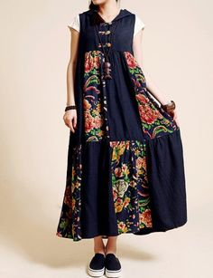 20 Modelos de vestidos anchos tipo hindú a la moda   Vestidos Glam