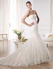 Pronovias te presenta el vestido de novia Onda. Glamour 2014. | Pronovias