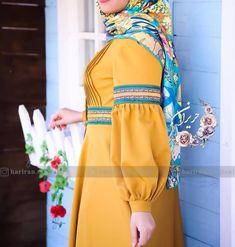Iranian Women Fashion, Muslim Fashion, Fashion Sewing, Diy Fashion, Sleeves Designs For Dresses, Sleeve Designs, Skirt Fashion, Fashion Dresses, Hijab Style