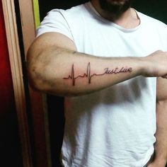 #tat #tatt #tattoo #tattoos #tatt #tattooing #simple #tattooedman #man #arm #artists #artwork #inked #ink #inkedup #egypttattoo #Cairo #giza #heart #heartbeats #live #justlive #just #
