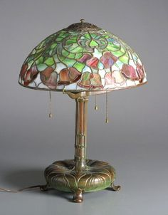 a0b99d1c0 Lamp & Lampshade Louis Comfort Tiffany Maker: Tiffany Glass & Decorating  Company Date: ca
