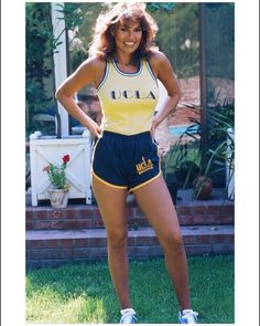 #FBF  In the 70's living in London, I became a huge soccer fan. Later at home in sunny Cali, British lensman, @terryoneillofficial asked me to try on this UCLA soccer gear… And as you can see, it sure brought a big smile to my face! #soccerfan #uclabruins #terryoneill RAQUEL WELCH