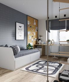Boys bedrooms furniture can also be fun! Discover more ideas and inspirations with Circu Magical furniture. Kids Bedroom Designs, Modern Bedroom Design, Kids Room Design, Home Office Design, Interior Design Living Room, Room Interior, Teen Room Decor, Childrens Room Decor, Bedroom Decor