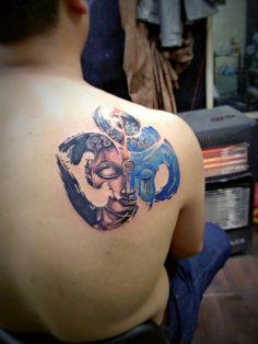 om buddha tattoo