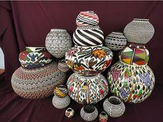 stunning baskets from the Santa Fe Festival