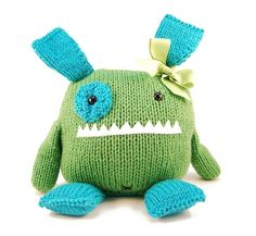 knit toy pattern from Danger Crafts: Penelope the Empathetic Monster