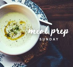 This creamy leek soup is a meal prep chameleon.