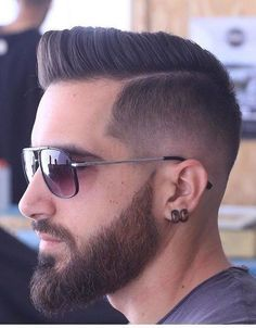 Men's Toupee Human Hair Hairpieces for Men inch Thin Skin Hair Replacement System Monofilament Net Base ( Hair Toupee, Mens Toupee, Beard Styles For Men, Hair And Beard Styles, Short Hair Styles, Hair Style For Men, Cool Haircuts, Haircuts For Men, 2018 Haircuts