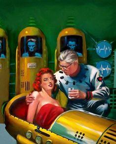 The Vault of Retro Sci-Fi — Ed Valigursky
