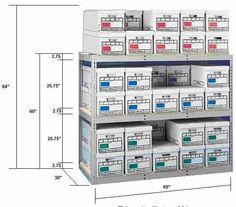 Banker Box Storage Shelving   Heavy Duty Storage Shelving Racks