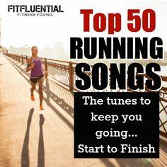 Top 50 running songs