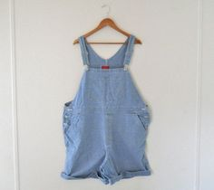 Plus Size Overall Women Overalls Denim Overall by TheVilleVintage, $49.99
