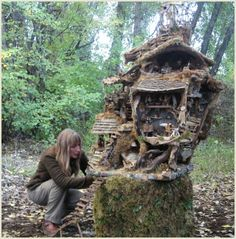 A truly wonderful faery home