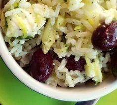 Ensalada de arroz mediterránea