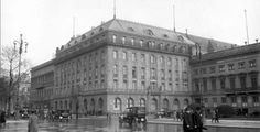 This is a photograph of the old hotel circa 1928. Hotel Adlon was where all the foreign journalists met. It is also where Count von Lietzow hosted a party to celebrate his engagement to Grace.
