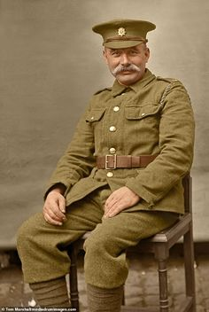 The Lost Tommies: Colorizing Photos of British Soldiers in WWI Ww1 History, Military History, Ww1 Soldiers, Wwi, British Soldier, British Army, World War One, First World, Commonwealth
