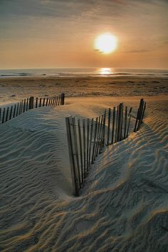 Sunrise Over Hatteras (Outerbanks, NC) by Steven Ainsworth