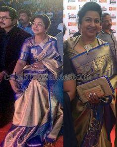 Radhika at Filmfare Awards | Saree Blouse Patterns