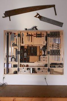 6 Charming Hacks: Essential Woodworking Tools Tips And Tricks vintage woodworking tools dads.Woodworking Tools Storage Products old woodworking tools vintage.Old Woodworking Tools Vintage. Woodworking Tool Cabinet, Essential Woodworking Tools, Antique Woodworking Tools, Woodworking Workshop, Woodworking Jigs, Woodworking Projects, Intarsia Woodworking, Woodworking Patterns, Woodworking Techniques
