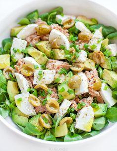 Pasta Salad, Cobb Salad, Tasty Dishes, Potato Salad, Diet Recipes, Nom Nom, Food And Drink, Favorite Recipes, Cooking