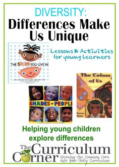 Diversity unit of study for preschool, pre-kindergarten & kindergarten. Resource includes read alouds, activities, writing lessons and more. Kindergarten Reading, Kindergarten Activities, Writing Activities, Activities For Kids, Kindergarten Design, Kindergarten Graduation, Kindergarten Classroom, Classroom Decor, Teaching Resources