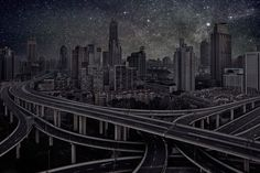 Here Is What Our Cities Would Look Like Without Light Pollution | Physics-Astronomy