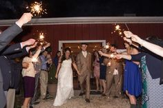 Country Wedding Sendoff