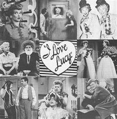 I Love Lucy in the 1950's