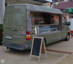Food truck mercedes sprinter 2001