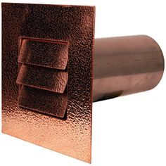 Louvered Metal Dryer Vent Out Of Copper, Stainless Steel, And Hammered  Copper. Avaialbe · Bathroom FansClothes ...
