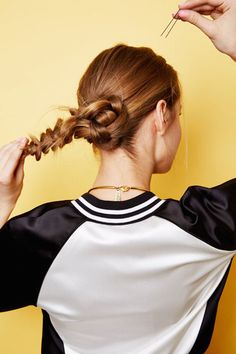 braided bun tutorial to try this weekend
